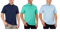 NEW!! Izod Men's Slub Polo Shirts Variety