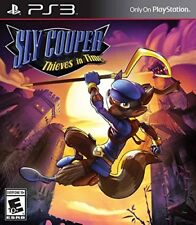 PLAYSTATION 3 PS3 GAME SLY COOPER: THIEVES IN TIME BRAND NEW & FACTORY SEALED