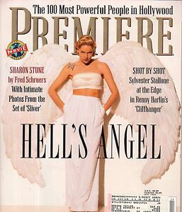 1993 Premiere May-Sharon Stone;Bruce Lee;Sly Stallone;Most powerful people; Kane