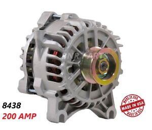 200 AMP 8438 Alternator Ford Mustang 4.6L 05-09 High Output Performance NEW HD