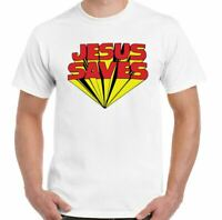 Keith Moon The Who T-Shirt Mens Jesus Saves Top as Worn by Retro MOD Guitar