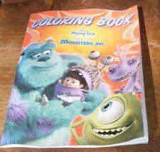 Disney On Ice Monsters Inc Coloring Book Pixar