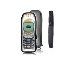 Hülle Tasche Schutzhülle für Nokia 6310 6310i aus Satin mit Reissverschluss