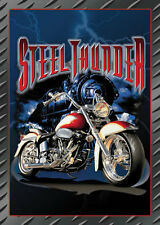 HARLEY Cool Ride Steel Thunder Tin Metal Sign 1 of 500+ Signs