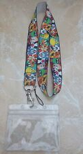 Looney Tunes Character Lanyard Neck Strap for Pin Trading inc. Waterproof Holder