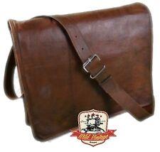 Leder Leptoptasche Handgefertigte 100% Ledertasche von Wild Vintage WV10 NEU **