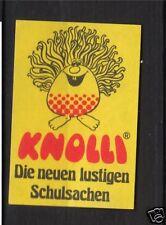 Etiquette  Allumettes France Knolli export. Allemagne