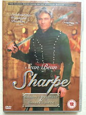 Sean Bean SHARPE'S REGIMENT / SHARPE'S SIEGE ~ TV Drama Double Bill | UK DVD