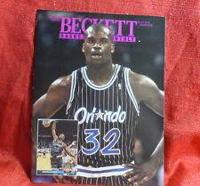 NBA Beckett Magazine Orlando Magic Shaquille O'neal August 1993