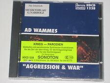 CD/DENNIS MUSIC LIBRARY HDCD 1228/AD WAMMES/AGGRESSION & WAR