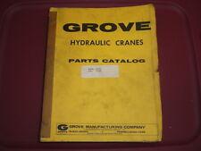 GROVE RT75S Crane PART Manual Caterpillar 3208  09/1976