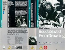 vhs video BOUDU SAVED FROM DROWNING (1932). French (English Subtitles) Timecoded