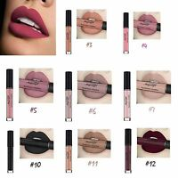 Lady Miss Waterproof maquillage mat rouge à lèvres liquide Gloss cosmétique