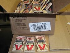 Victor M040 Lot of (72) Snap Spring Wooden Mouse Trap / Rodent Control NEW SALE