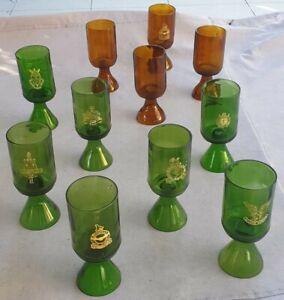 Rhodesian Army & Air Force Selous Scouts RLI etc. 1970s' Glasses. BL1