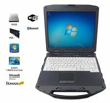General Dynamics Itronix GD8000 RUGGED Laptop Core 2 Duo L9400 160GB SSD 8GB RAM