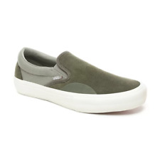 Men Vans Slip-on Pro Grape Leaf/Laurel Oa VN0A347VVET 100% Original Brand New