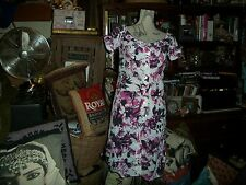 JEAN PAUL GAULTIER for TARGET Lovely Floral Print Dress Size XS