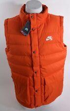 2016 NWT MENS NIKE SB DOWN PUFFER SNOWBOARDING VEST $200 XXL orange jacket
