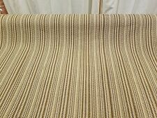 """Beige Brown Woven Upholstery Home Decor By the Yard Designer Fabric 50"""" Wide"""