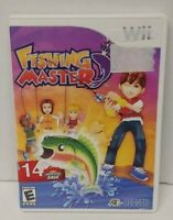 Fishing Master - Nintendo Wii Wii U Game Tested Working  Complete