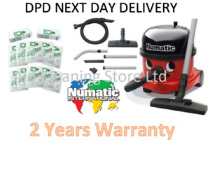 NEW 2021 HENRY HOOVER NRV200 NUMATIC COMMERCIAL VACUUM CLEANER And 20 Free Bags