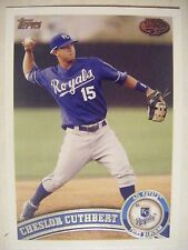 CHESLOR CUTHBERT RC 2011 Topps Pro Debut baseball card #194 ROYALS NICARAGUA QTY