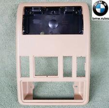 BMW X5 E53 1999-2006 Dome Sunroof Headlining Panel Bracket Frame Switches Beige
