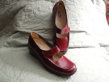 Wolky red wedge size 38 = 7 - 7.5