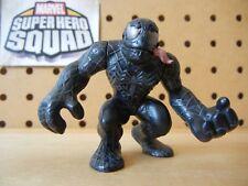 Marvel Super Hero Squad VENOM Silver Eyes Pink Tongue from Spider-Man Wave 4