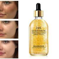 24 Karat Gold Gesichtspflege Anti-Falten-Gesichts-Essenz-Serum-Creme U4W9