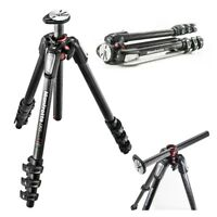 Manfrotto MT055CXPRO4 055 Carbon Fiber 4-Section Tripod with Horizontal Column