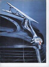 MATFORD ALSACE V8 72 & V8 76 (alliance de MATHIS et FORD) CATALOGUE DEPLIANT