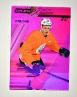 2020-21 UD Synergy FX Rookies Purple #FXR-PB Philip Broberg RC /349