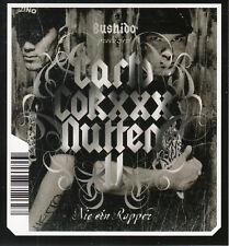 "Bushido: Sonny Black & Saad - Nie Ein Rapper (3"") Mini Pock it CD 2005 Hip Hop"