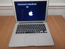 "Apple MacBook Air 13"" core i5 – 1.8 GHz , 4 GB , 64 GB SSD - Mid 2012"