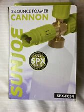 Sunjoe 34-ounce Foamer Cannon For Pressure Washers Transfer Adapter Not Included