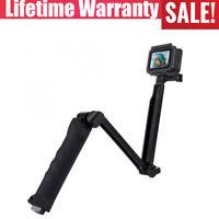 Selfie Stick Monopod Foldable Tripod For GoPro NEW HERO DJI Osmo Action Xiaoyi