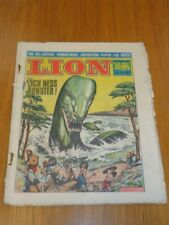 LION 16TH OCTOBER 1965 BRITISH WEEKLY COMIC FLEETWAY^