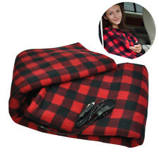 12V Car Winter Warm Fleece Constant Temperature Electric Heating Blanket Rakish