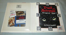 Trust & Betrayal - Rare 1987 Macintosh Computer Mindscape Video Game NEW/SEALED!