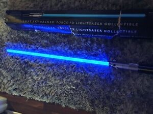 Star Wars Master Replica 2007 Luke Skywalker Force FX Lightsaber