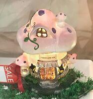 ~❤️~TOADSTOOL NIGHT LIGHT Mushroom 30cms Pink PLUG-IN Cool to touch BNIB~❤️~