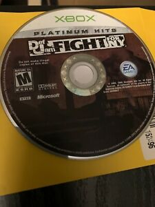Def Jam: Fight for NY (Microsoft Xbox, 2004) PLATINUM HITS - EXTREMELY RARE DISC