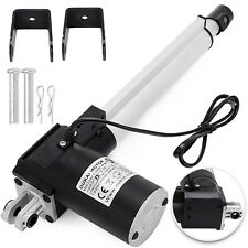 """8"""" 6000N Electric Linear Actuator 1320 Pound Max Lift Heavy Duty 24V DC Motor"""