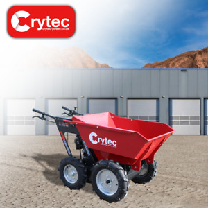 T25 260Kg Tipping Wheeled Mini Dumper Power Barrow Free Mainland Delivery 6.5HP