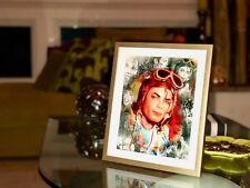"Michael Jackson Print Art - ""The Aviator"" - Collector's Item -Exclusive Portrait"