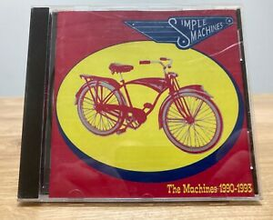 """Simple Machines 7""""s – The Machines 1990-1993(CD, 1993) Record Label Sampler"""