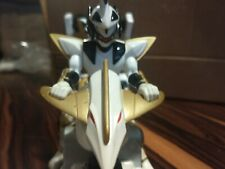 Power Rangers Dino Thunder Deluxe White Raptor Chariot Cycle