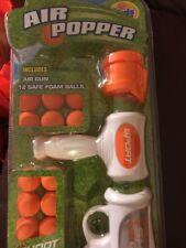 Power Pump Action Popper Air Powered Blaster Shooter Gun Foam Ball Battle Toy